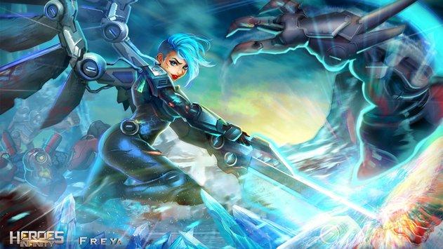 Heroes Infinity Gods Future Fight APK indir [v1.13.12]