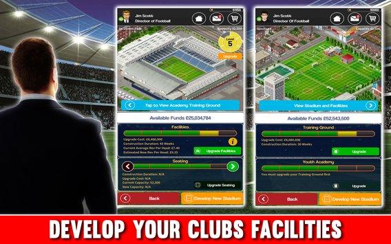 Kulüp Futbol Direktörlüğü 2018 APK indir [v2.0.8e]