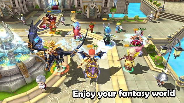 Legend of Brave APK indir [v6.0.0]