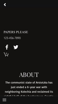 Papers Please APK Tam Sürüm Android indir [v1.0.2]