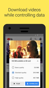YouTube Go APK indir [v1.01.61]